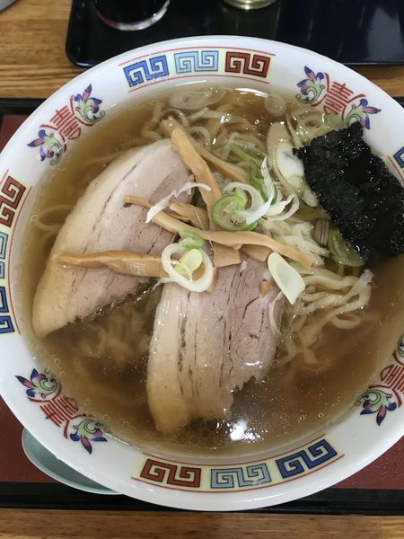 「ラーメン+大盛(¥670)」@お食事処 ふじみやの写真