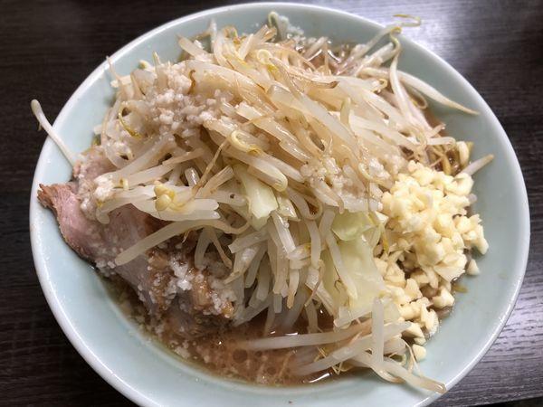 「聖麺 ニンニクマシ」@横浜家系ラーメン ひじり家の写真