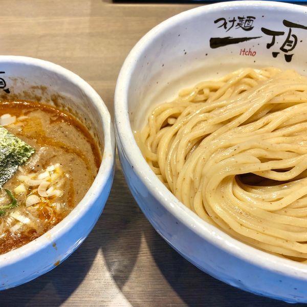 「濃厚つけ麺300g800円」@つけ麺 一頂の写真