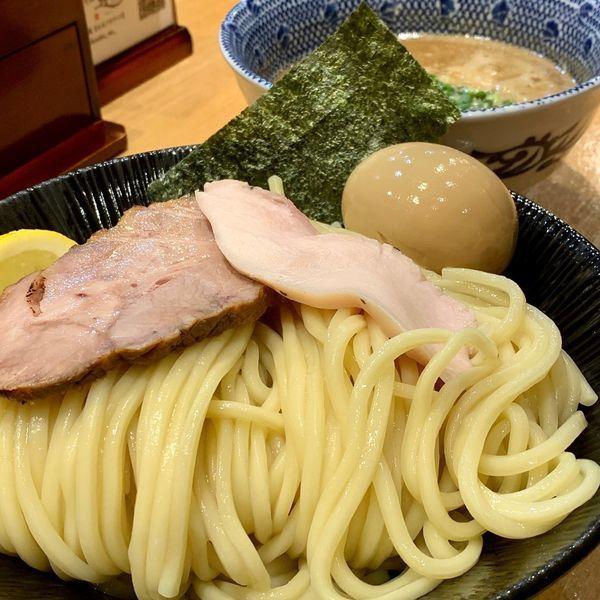 「濃厚つけ麺」@中華そば 蓮の写真