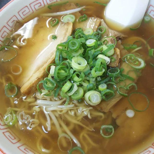 「チャーシュー麺 600円」@まると食堂の写真