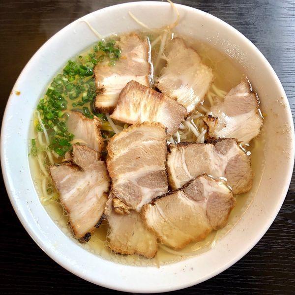 「チャーシュー麺 (700円)」@ラーメン専門 マルタケほんき 姶良店の写真