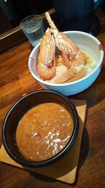「濃厚ロブスター味噌つけ麺1500円」@onisobafujiya ~PREMIUM~の写真