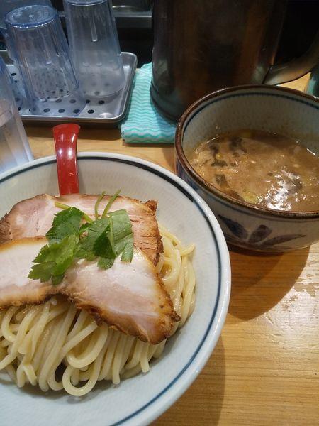 「濃厚煮干つけ麺 並」@煮干麺 月と鼈の写真