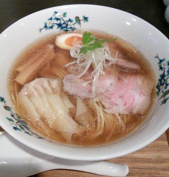 「かつらの中華そば 800円」@豚骨清湯・自家製麺 かつらの写真
