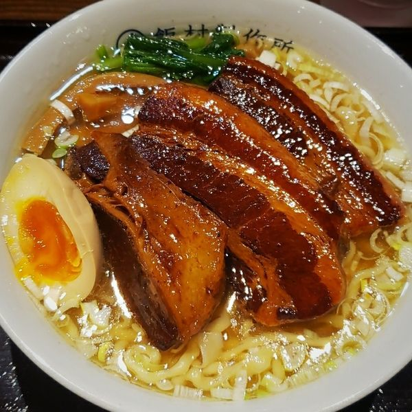 「【数量限定】トンポーロー麺  800円+肉増し 200円」@ラーメンとカレーの店。の写真