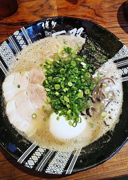 「味玉ラーメン 750円」@博多一双 博多駅東本店の写真
