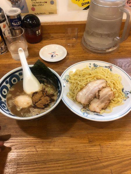 「濃厚魚介つけ麺」@テンホウ 若槻大通り店の写真