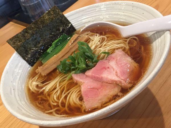 「らぁ麺(醤油)780円他」@麺屋 さくら井の写真