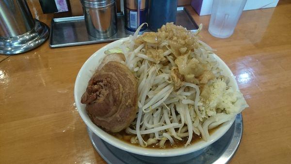 「特大ラーメン(全増し)¥750」@麺屋穴場の写真