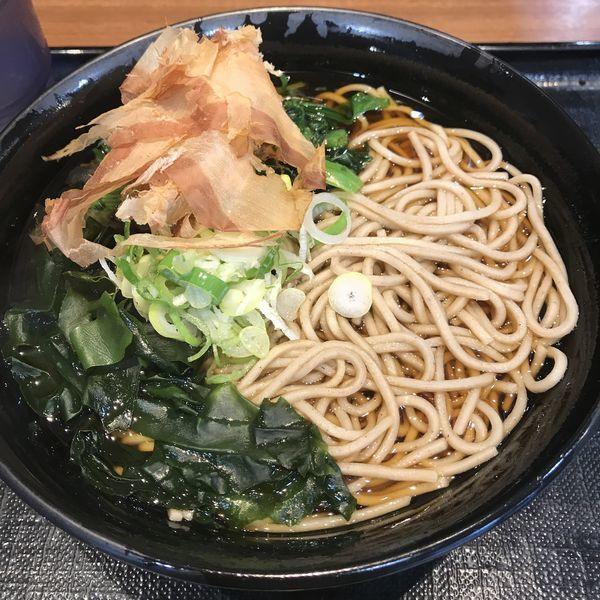 「ほうれん草(¥400)」@名代 富士そば 池袋東口店の写真