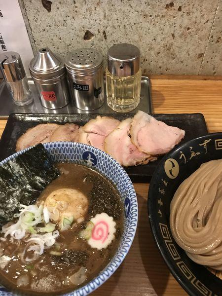 「特製つけ麺 小」@中華蕎麦うゑずの写真