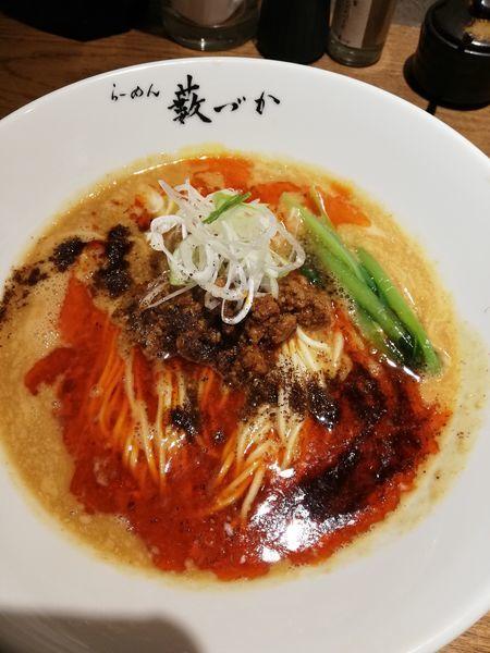「担担麺」@らーめん藪づかの写真