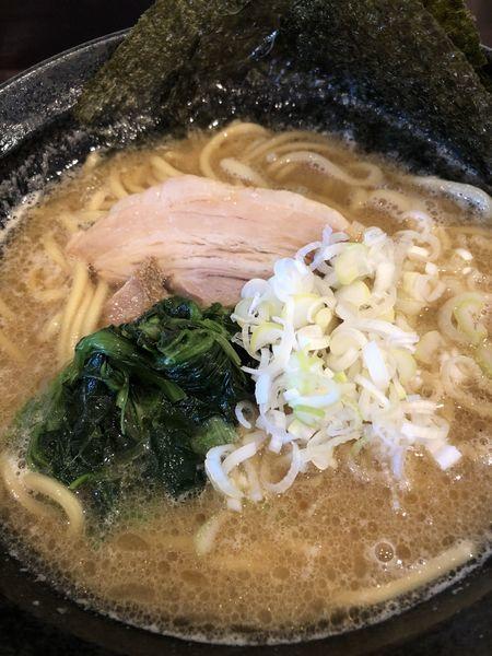 「とんこつ醤油ラーメン」@麺屋 亀城の写真
