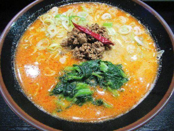 「担々麺(中辛)(850円)」@らーめん屋 豪快の写真