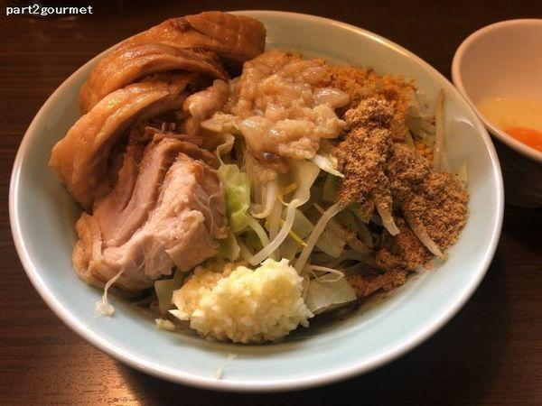 「ラーメン小豚汁無し 「ニンニクアブラ」(1,050円)」@かじろうramen7の写真