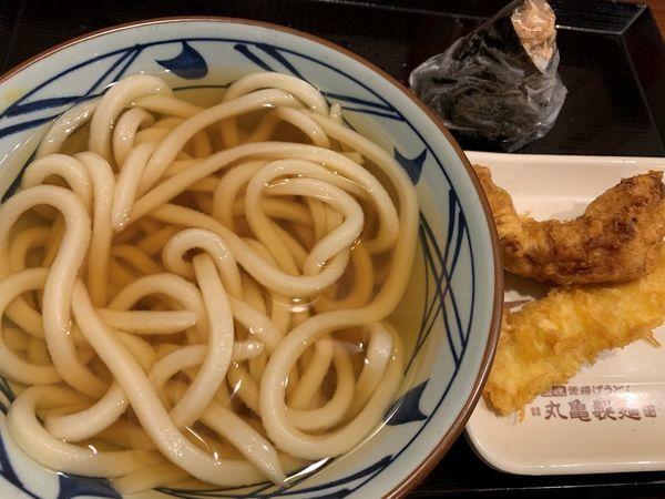 「かけうどん(並)」@丸亀製麺 両国の写真