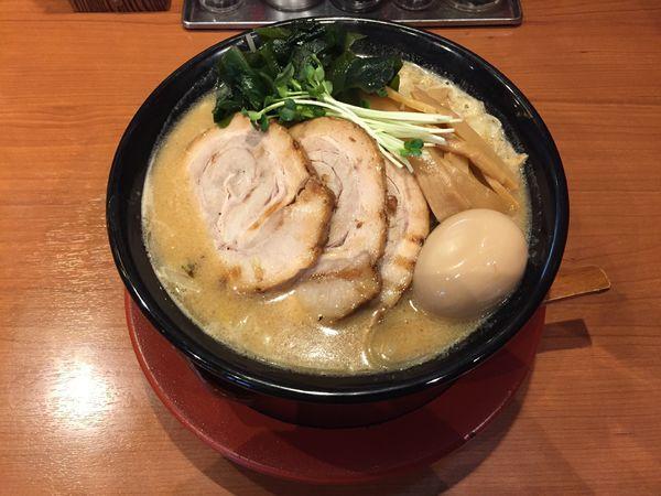 「特製満開味噌麺」@みそらーめん 満開屋 芝東店の写真