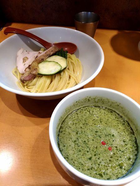 「ジェノベーゼ風つけ麺」@麺屋 翔 品川店の写真