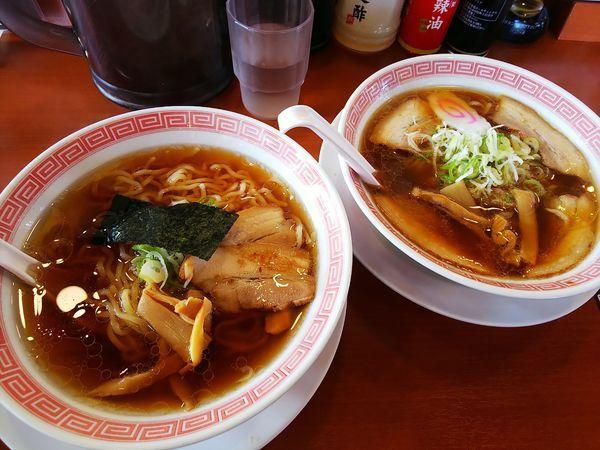 「食べ比べセット」@幸楽苑 川越木野目店の写真