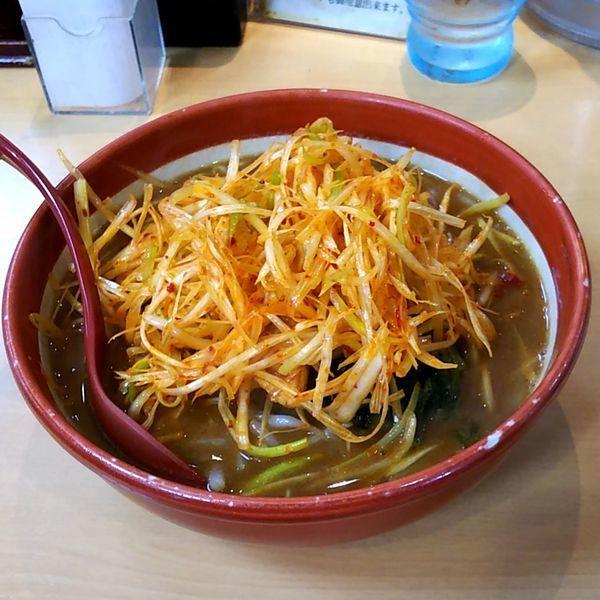 「伊勢味噌肉ネギらーめん」@蔵出し味噌 麺場 田所商店の写真