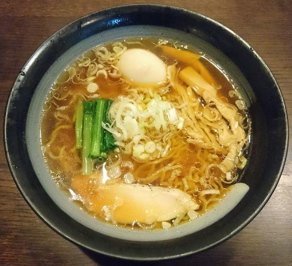 「鶏清湯中華そば(醤油)+味玉」@鶏々 TORIDORIの写真