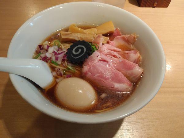 「特製のどぐろそば」@らぁ麺 はやし田 新宿本店の写真
