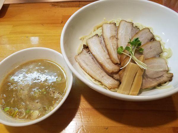 「チャーシューつけ麺」@烏城の写真