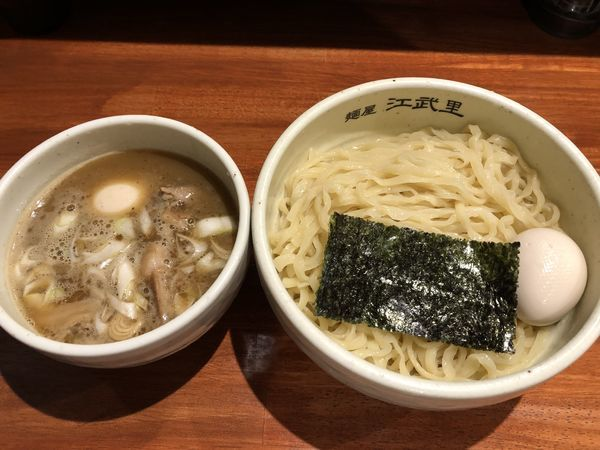 「濃厚つけ麺+味玉(¥880+¥100)」@麺屋 江武里の写真