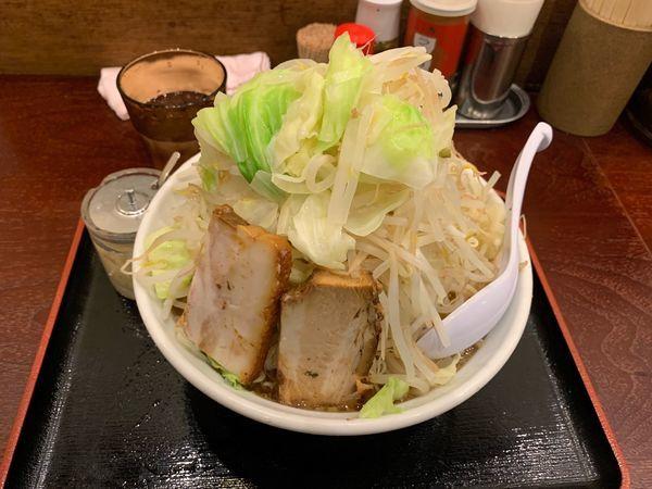 「てっぺんラーメン ヤサイマシ」@麺屋 甍の写真