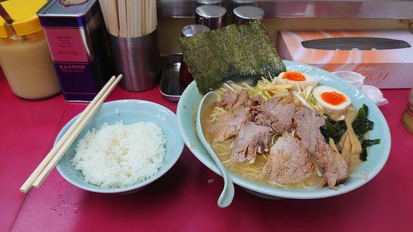 「ねぎチャーシュー麺」@ラーメンショップ 牛久結束店の写真