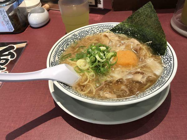 「熟成醤油ラーメン」@丸源ラーメン 春日部16号バイパス店の写真