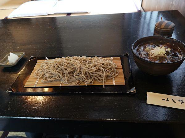 「鴨汁そば(大盛り)」@いし塚の写真