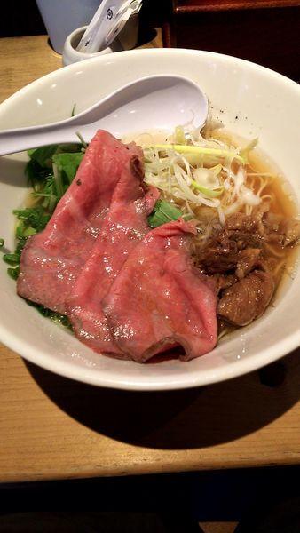「特製牛骨麺(1,000円)」@麺屋 西川の写真