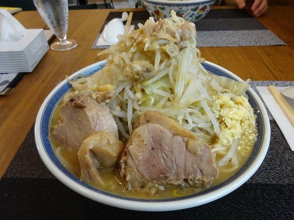 「小ラーメン 750円 (全増し)」@K Dinerの写真