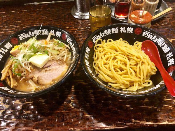 「味噌タンつけ麺 200g ¥890+バター」@北のらーめん 美空の写真