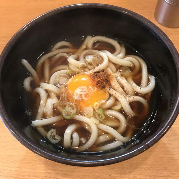 「月見(¥270)」@立会川そばの写真