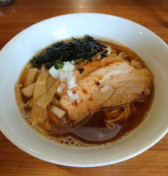 「煮干と水 ラーメン」@麺&cafe Coi.Coi.の写真