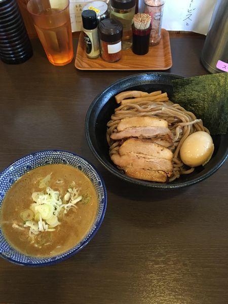 「特製つけ麺並盛(1100円)」@つけ麺 弥七の写真