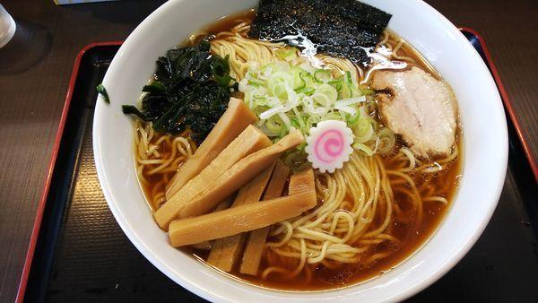 「中華そば720円」@つけ麺 丸和 弥富店の写真