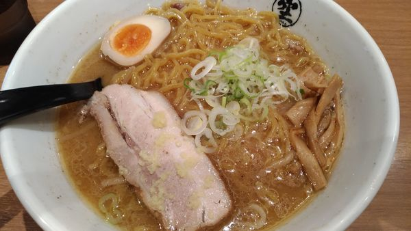 「味噌ラーメン」@らーめん空 新千歳空港店の写真