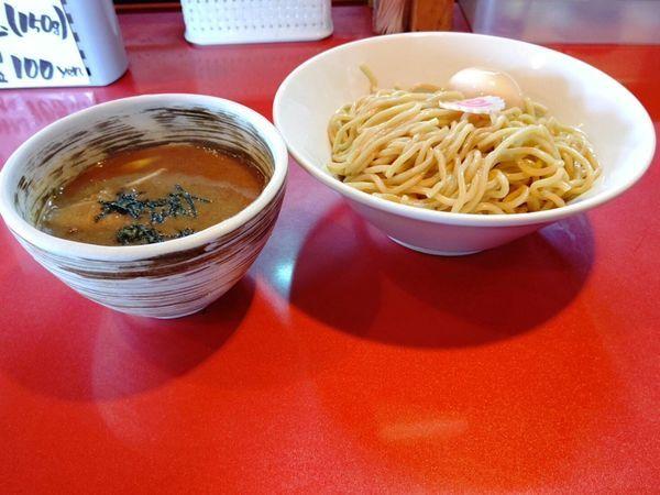 「味玉つけ麺(並盛・250g)850円」@麺屋しのはら 三日月食堂の写真