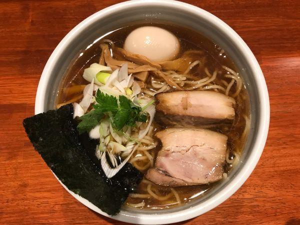 「味玉醤油ら〜麺」@麺屋 江武里の写真