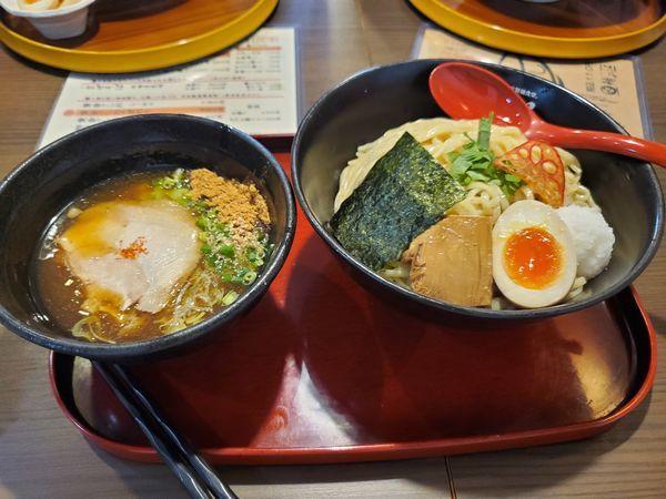 「元祖越前鬼下ろしつけ麺大盛り」@ふくい自家製麺食堂。鯖の江の写真