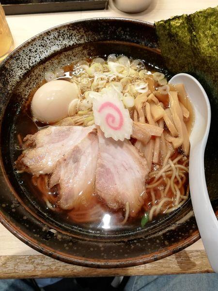 「特製醤油ラーメン(850円)」@らーめん しおじの写真