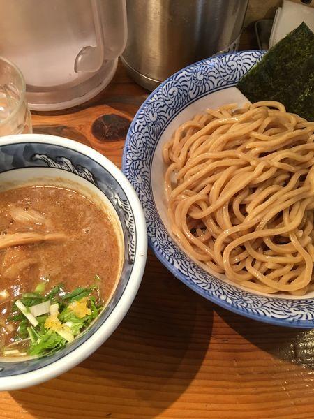 「濃厚つけ麺(胚芽麺)」@道玄坂マンモスの写真
