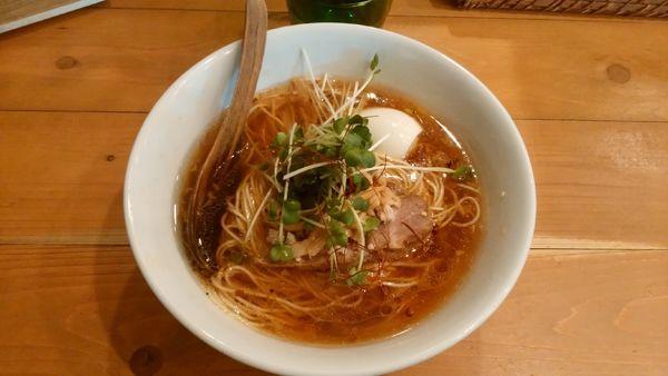 「醤油SOBA¥800+塩味玉¥100-」@麺屋 Hulu-luの写真