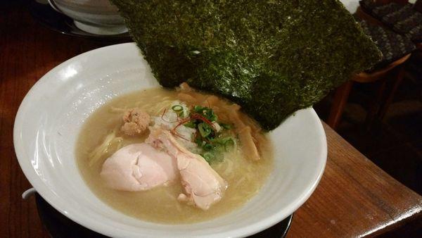 「白」@濃厚鶏麺 ゆきかげ 浅草本店の写真