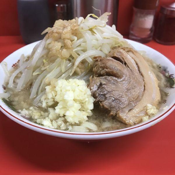 「半分(¥680)」@ラーメン二郎 京都店の写真