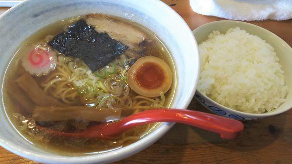 「Bセット(ラーメン 小+ライス 小)¥500」@大正麺業の写真